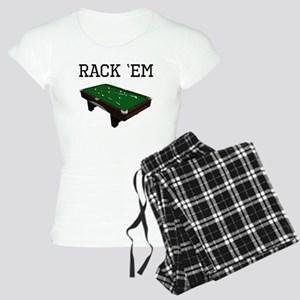 Rack Em Billiards Pajamas