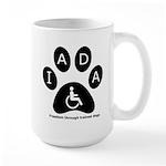 IADA logo Mugs