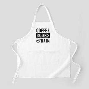 Coffee Books and Rain Apron