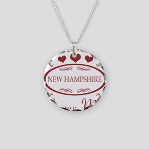 Somebody In New Hampshire Lo Necklace Circle Charm