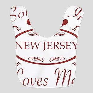 Somebody In New Jersey Loves Me Bib