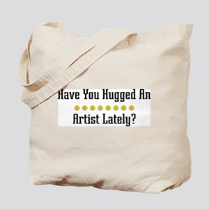 Hugged Artist Tote Bag