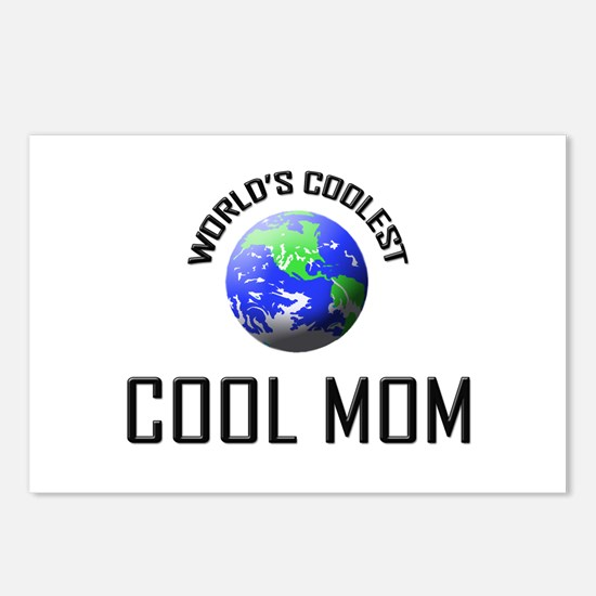 World's Coolest COOL MOM Postcards (Package of 8)