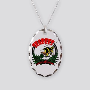 SeaBees Necklace Oval Charm