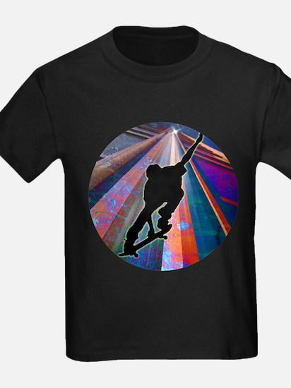 Skateboard on a Buil T-Shirt