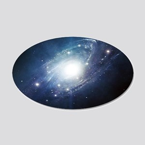 Galaxy Cluster Wall Decal
