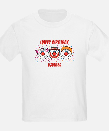 Happy Birthday EZEKIEL (clown T-Shirt