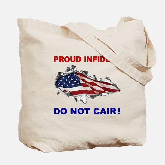 Terror-Free Oil Tote Bag