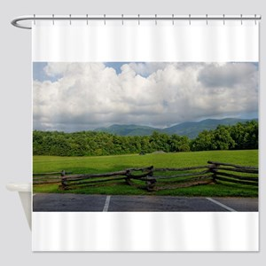 SCENIC LANDSCAPES Shower Curtain