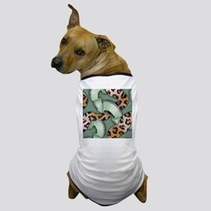 Leopards'n Lace - Green Dog T-Shirt