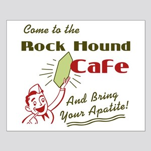 Rock Hound Cafe Small Poster