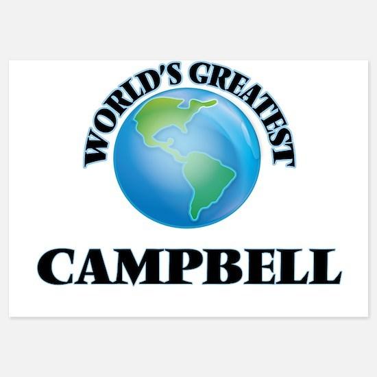 World's Greatest Campbell Invitations