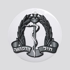 Israel - Medical Corps Hat Badge Ornament (Round)