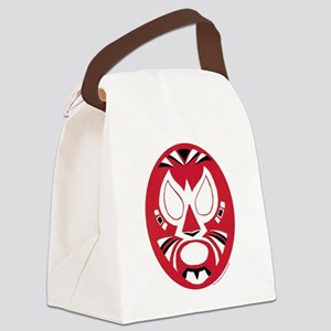 maskcroppedC Canvas Lunch Bag