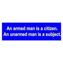 An armed man is a citizen