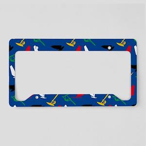 Windsurfing License Plate Holder