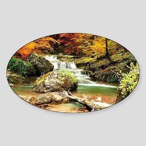 Autumn Stream Sticker