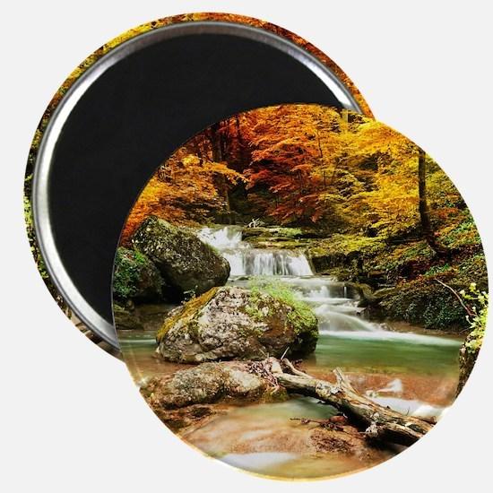 Autumn Stream Magnets