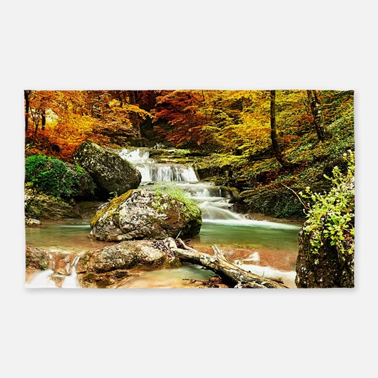Autumn Stream 3'x5' Area Rug