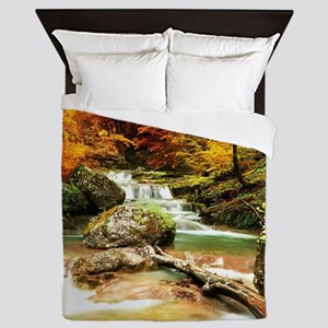 Autumn Stream Queen Duvet