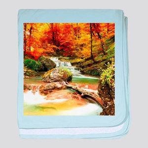 Autumn Stream baby blanket