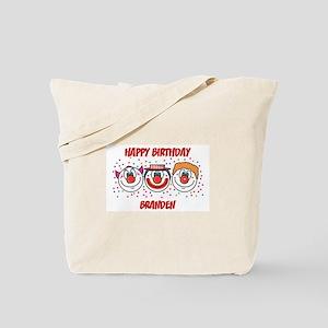 Happy Birthday BRANDEN (clown Tote Bag