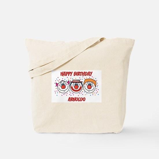 Happy Birthday ARNOLDO (clown Tote Bag