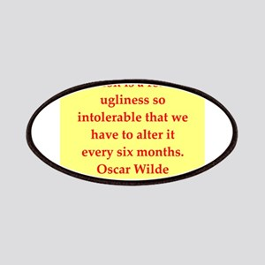 oscar wilde quote Patches