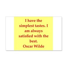 oscar wilde quote Wall Decal