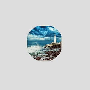 Lighthouse Mini Button
