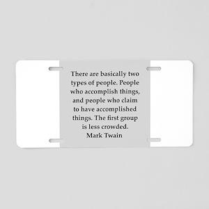 171 Aluminum License Plate