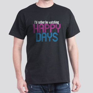 Happy Days Dark T-Shirt