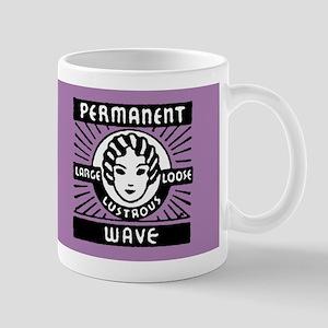 Permanent  Wave Mug (Purple)