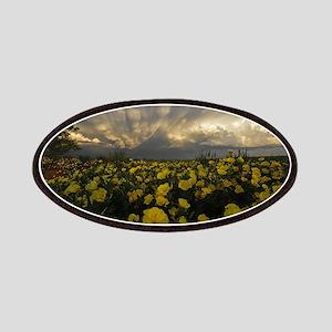 Dramatic Yellow Primrose Scene Patches
