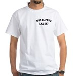 USS EL PASO White T-Shirt
