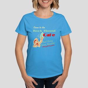 Rock Hound Cafe Women's Dark T-Shirt