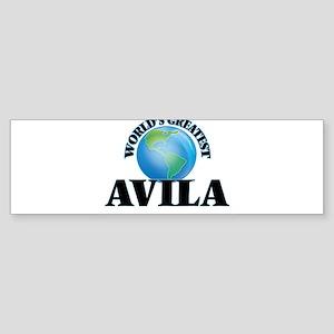World's Greatest Avila Bumper Sticker