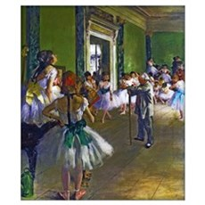 Degas - The Ballet Class Wall Art Poster