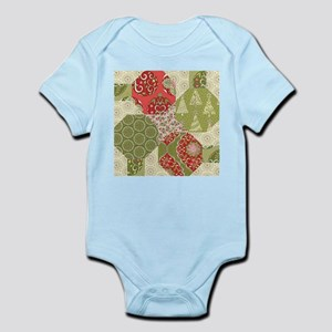 Christmas Quilt Pattern Body Suit