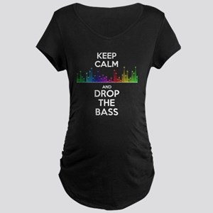 Drop the Bass Maternity T-Shirt
