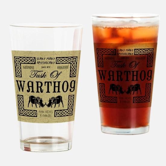 WARTHOG Drinking Glass