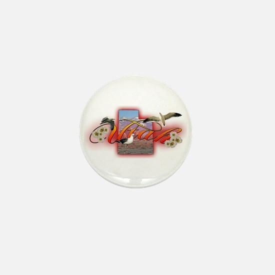Utah Mini Button