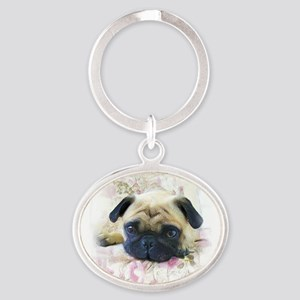 Pug Dog Keychains
