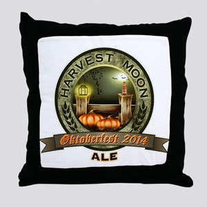 Oktoberfest 2014 Harvest Moon Ale Label Throw Pill