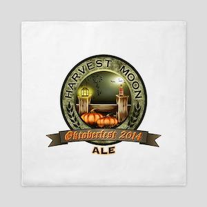 Oktoberfest 2014 Harvest Moon Ale Label Queen Duve