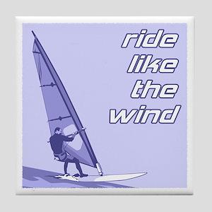 Windsurfing Tile Coaster