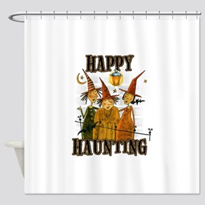 Happy Haunting 3 Witches Shower Curtain