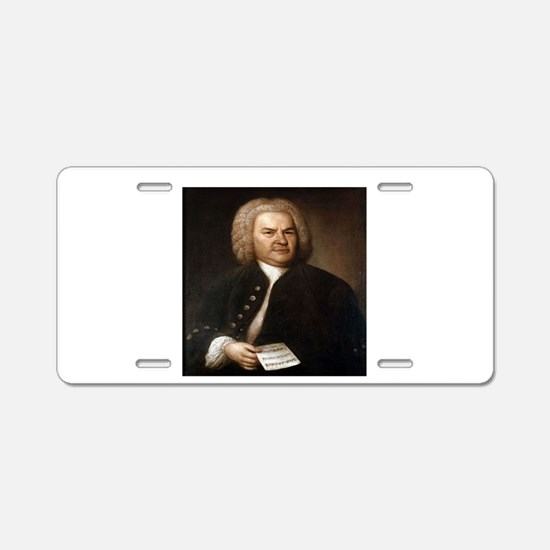 BACH.png Aluminum License Plate