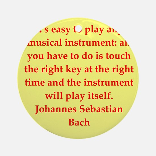 BACH3.png Ornament (Round)