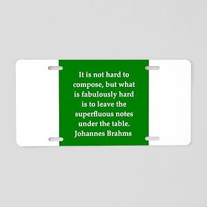 5 Aluminum License Plate